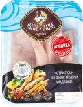Стрипсы Пава-Пава из филе грудки индейки 450г