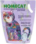 Наполнитель для кошачьего туалета Homecat Лаванда 3.8л