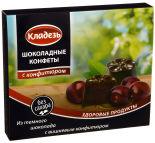 Конфеты Кладезь Шоколадные с вишневым конфитюром 100г