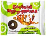 Лакомство для кошек Veda Веселый Мур-р-рмелад с кошачьей мятой 6г