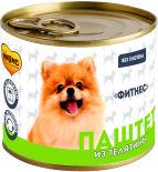 Корм для собак Мнямс Фитнес Паштет из телятины 200г