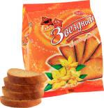 Сухари Звездный Классические с ароматом ванили 350г