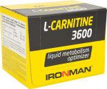 Напиток IronMan L-Карнитин 3600мг Земляника 12шт*60мл