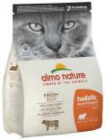 Сухой корм для кошек Almo Nature с говядиной и рисом 2кг