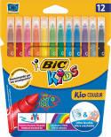 Набор фломастеров Bic Kids Kid Couleur 12 цветов