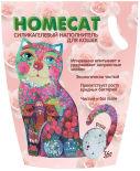Наполнитель для кошачьего туалета Homecat Роза 3.8л