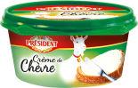 Сыр President Creme De Chevre 50% 125г