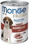 Корм для собак Monge Dog Fresh Chunks in Loaf рулет из ягненка 400г