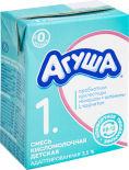 Смесь Агуша 1 кисломолочная адаптированная 3.5% 204мл