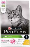 Сухой корм для стерилизованных кошек Pro Plan Optidigest Sterilised с курицей 3кг