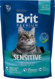 Сухой корм для кошек Brit Premium Ягненок для кошек с чувствительным пищеварением 800г