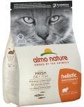 Сухой корм для кошек Almo Nat с рыбой и рисом 2кг