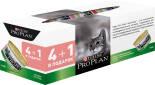 Влажный корм для стерилизованных кошек Pro Plan Sterilised паштет с лососем и тунцом 4+1шт*85г
