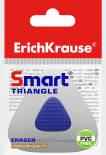 Ластик Erich Krause Smart Triangle с пластиковым держателем