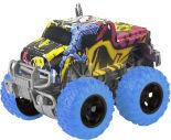 Игрушка Pitstop Машинка инерционная Трак граффити синие колеса 10см