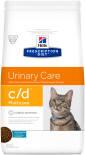 Сухой корм для кошек Hills Prescription Diet c/d для лечения и профилактики МКБ с океанической рыбой 1.5кг