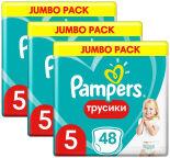 Трусики Pampers Pants 12-17кг Размер 5 48шт