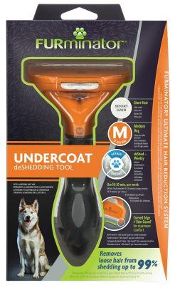 Фурминатор FURminator M для средних собак с короткой шерстью