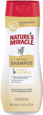 Шампунь для собак Natures Miracle с контролем запаха с овсяным молоком 473мл