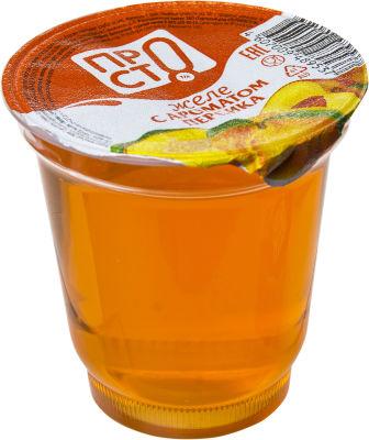 Желе ПРОСТО с ароматом персика 150г