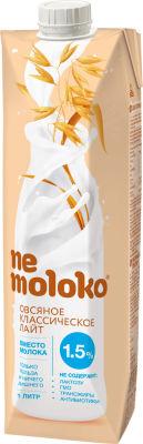 Напиток овсяный Nemoloko Классический лайт 1.5% 1л