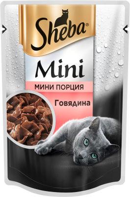 Корм для кошек Sheba с Говядиной 50г