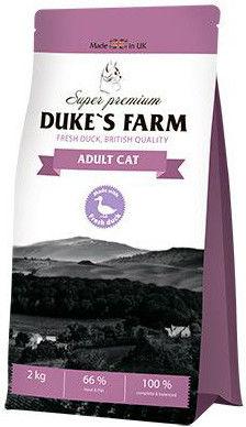 Сухой корм для кошек Dukes Farm Утка 2кг