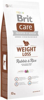 Сухой корм для собак Brit Care Кролик с рисом для собак склонных к полноте 12кг