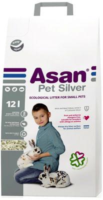 Наполнитель для грызунов Asan Pet Silver 12л