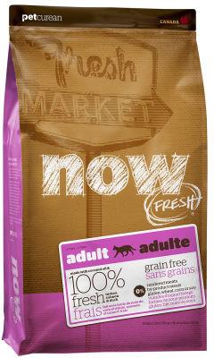 Сухой корм для кошек Now Fresh Adult Беззерновой с индейкой уткой и овощами 1.81кг