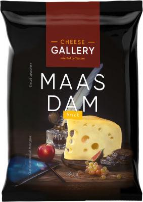 Сыр Cheese Gallery Маасдам 45% 180г