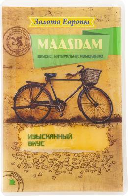 Сыр Золото Европы Маасдам 45% 150г