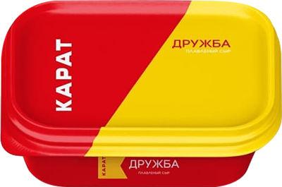 Сыр плавленый Карат Дружба 45% 200г
