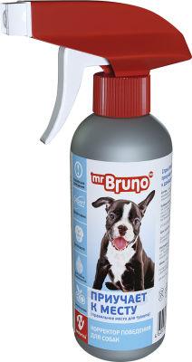 Корректор поведения Mr. Bruno Приучает к месту для собак 200мл