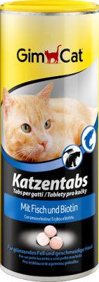 Лакомство для кошек GimCat с рыбой и биотином 425г
