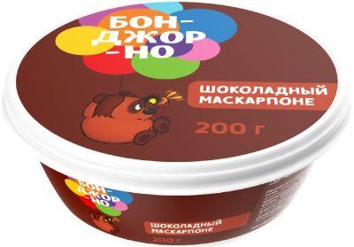 Сыр Бонджорно Шоколадный маскарпоне  200г