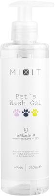 Гель для мытья лап животных MiXiT Pets Wash Gel антибактериальный 250мл